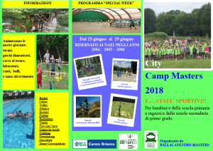 QUARTINO 1 CAMP 2018